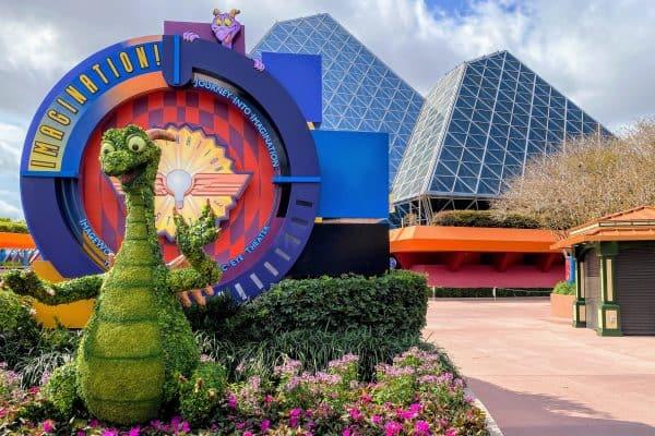 Figment Topiary June at Disney World