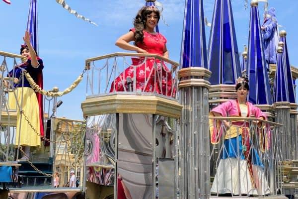 Magic Kingdom Princess Cavalcade Short Sleeves