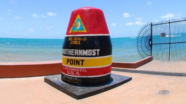 Key West southernmost point buoy