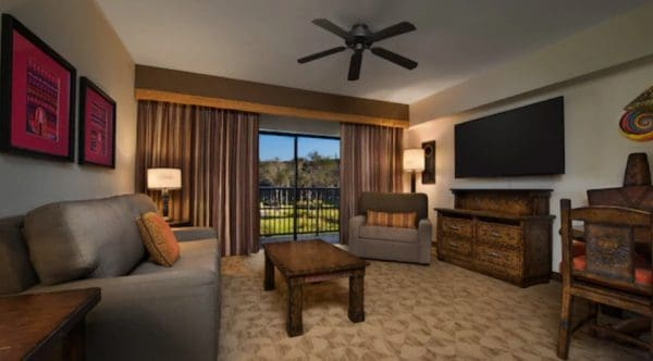 Kidani Villa living room