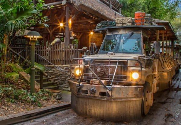 kilimanjaro safaris ride vehicle