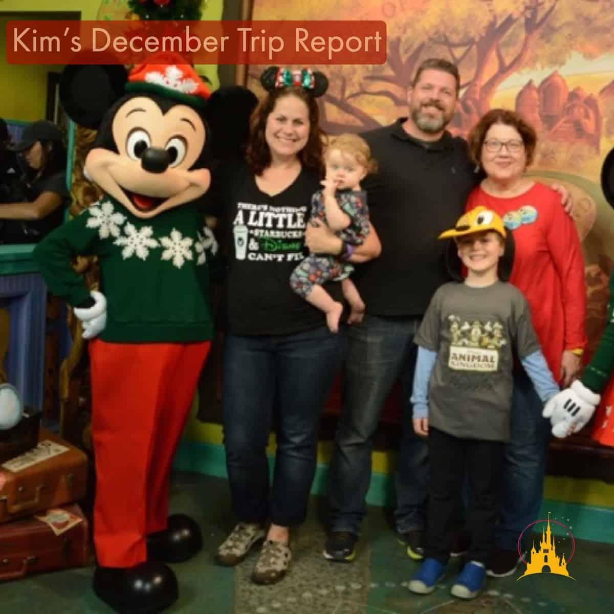 Kim's December trip report
