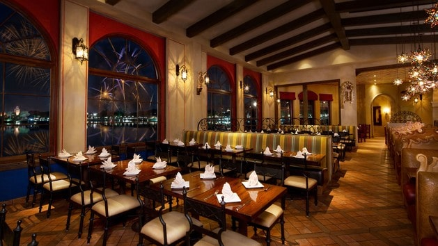 lahacienda - Best restaurants at Disney World for fireworks viewing