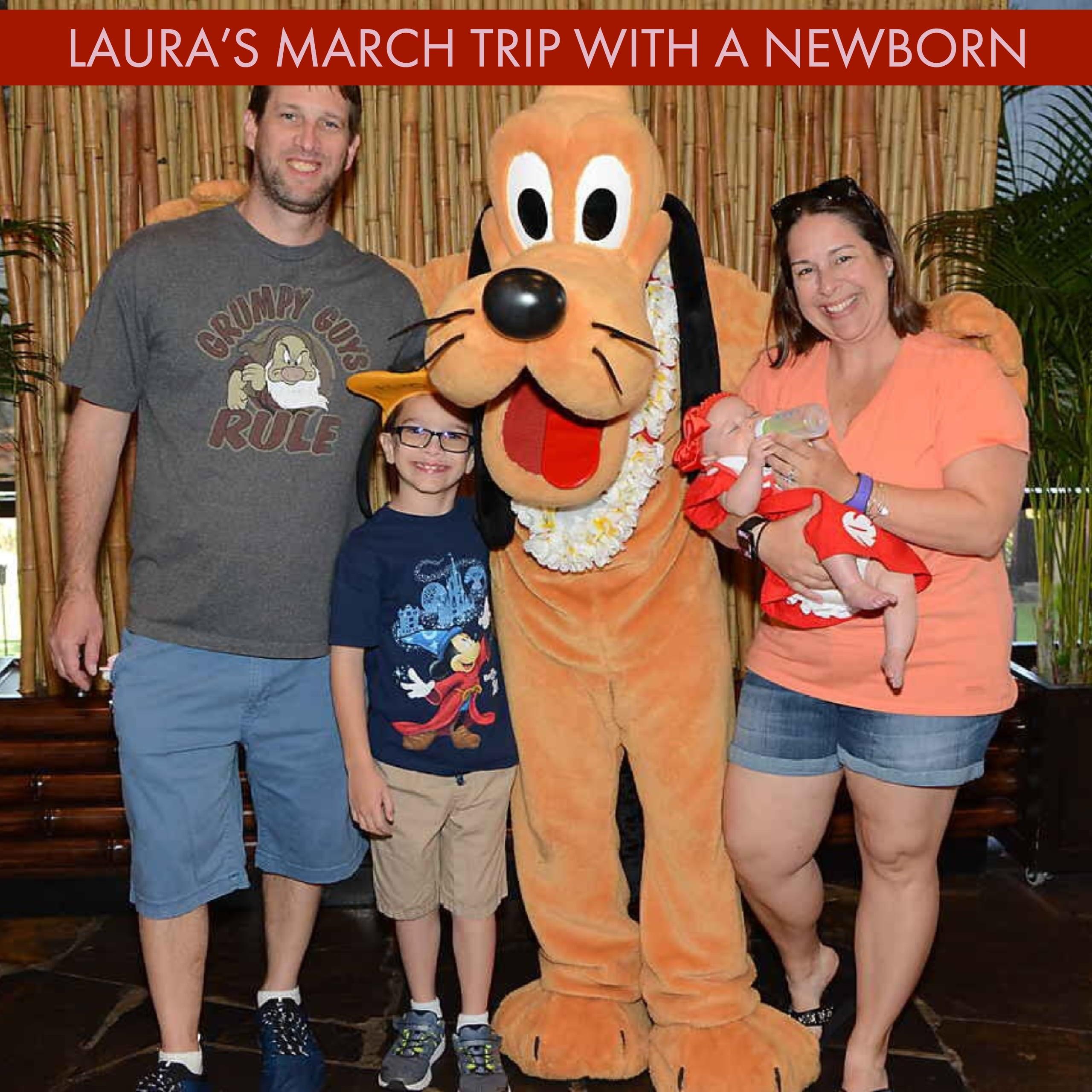 Laura's Disney World trip with a newborn