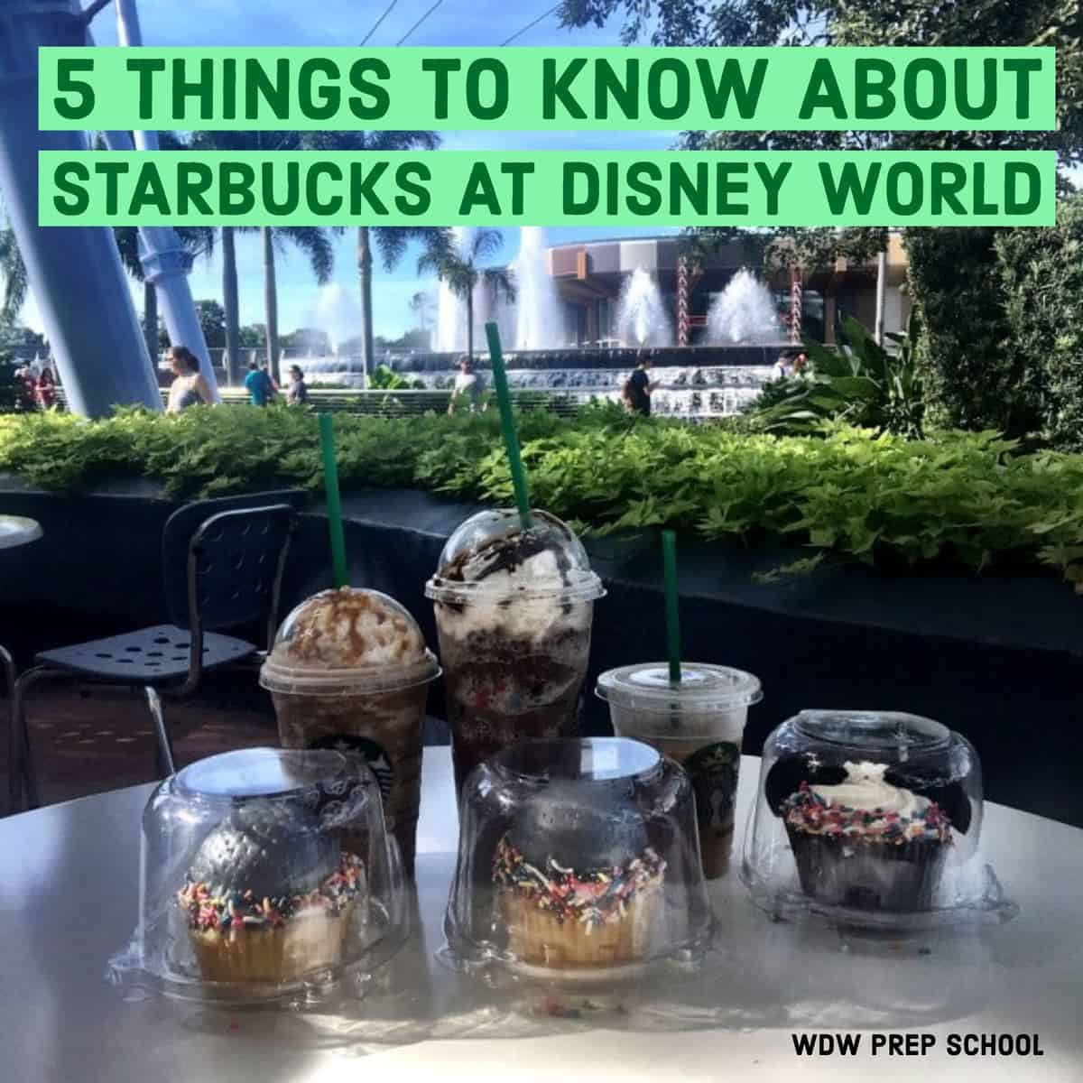 5 things to know about Starbucks at Disney World