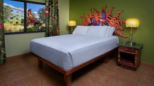 Lion King family suite at Art of Animation