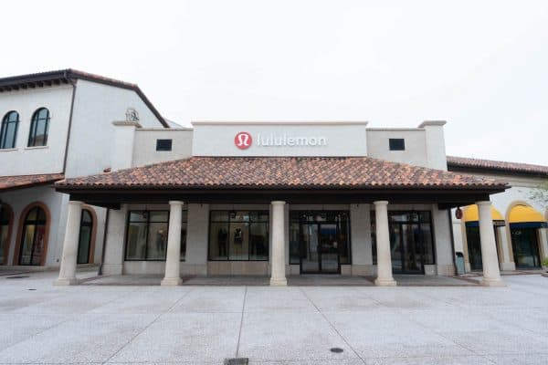 Lululemon is open at Disney Springs