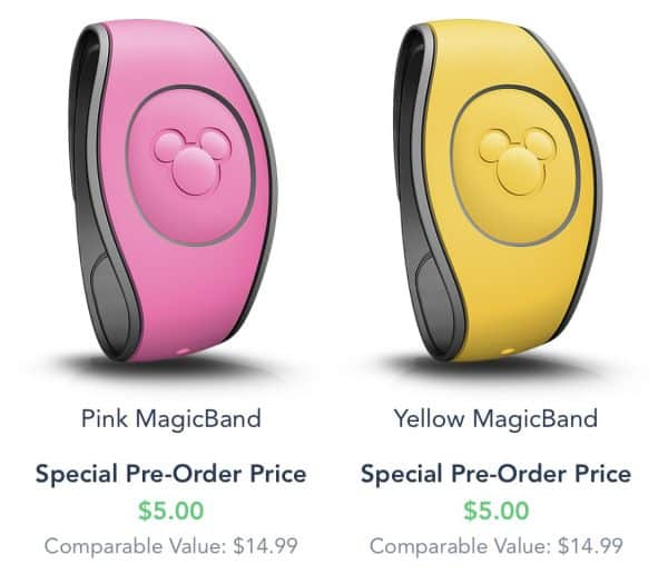 MagicBands now cost $5