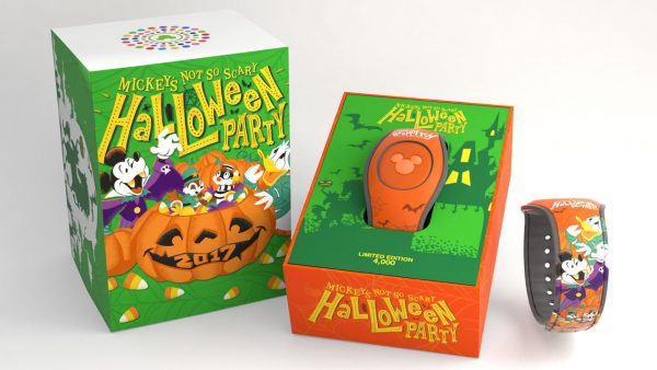 magicbandhalloween 600x338 - Tickets now on sale for Mickey's Not-So-Scary Halloween Party