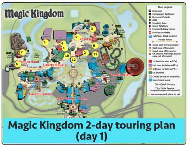 Wonderful Magickingdomday1   Magic Kingdom Touring Plans For 2018 (with FastPass+  Suggestions)