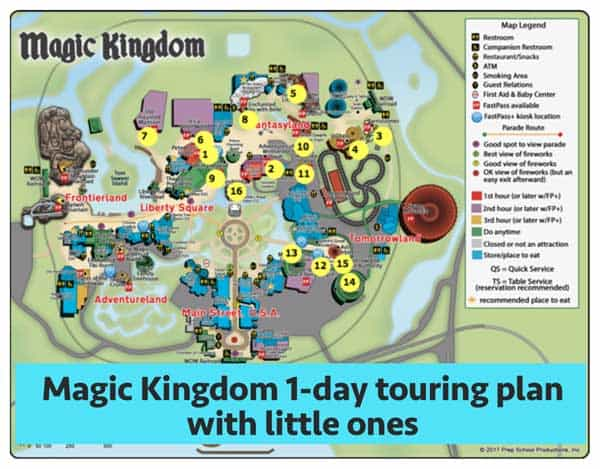 magickingdomwithlittleones - Magic Kingdom touring plans for 2018 (with FastPass+ suggestions)