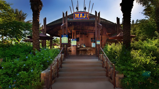 Boma Flavors of Africa (breakfast) - Maji Pool Bar (lunch)