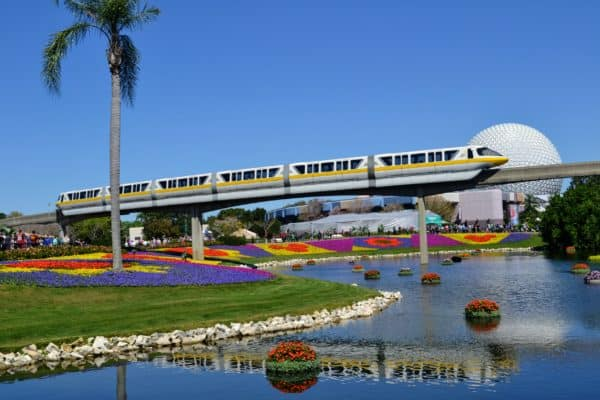 Monorail at Flower and Garden