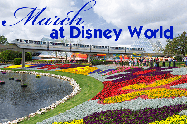 marchheader - March 2019 Disney World Crowd Calendar