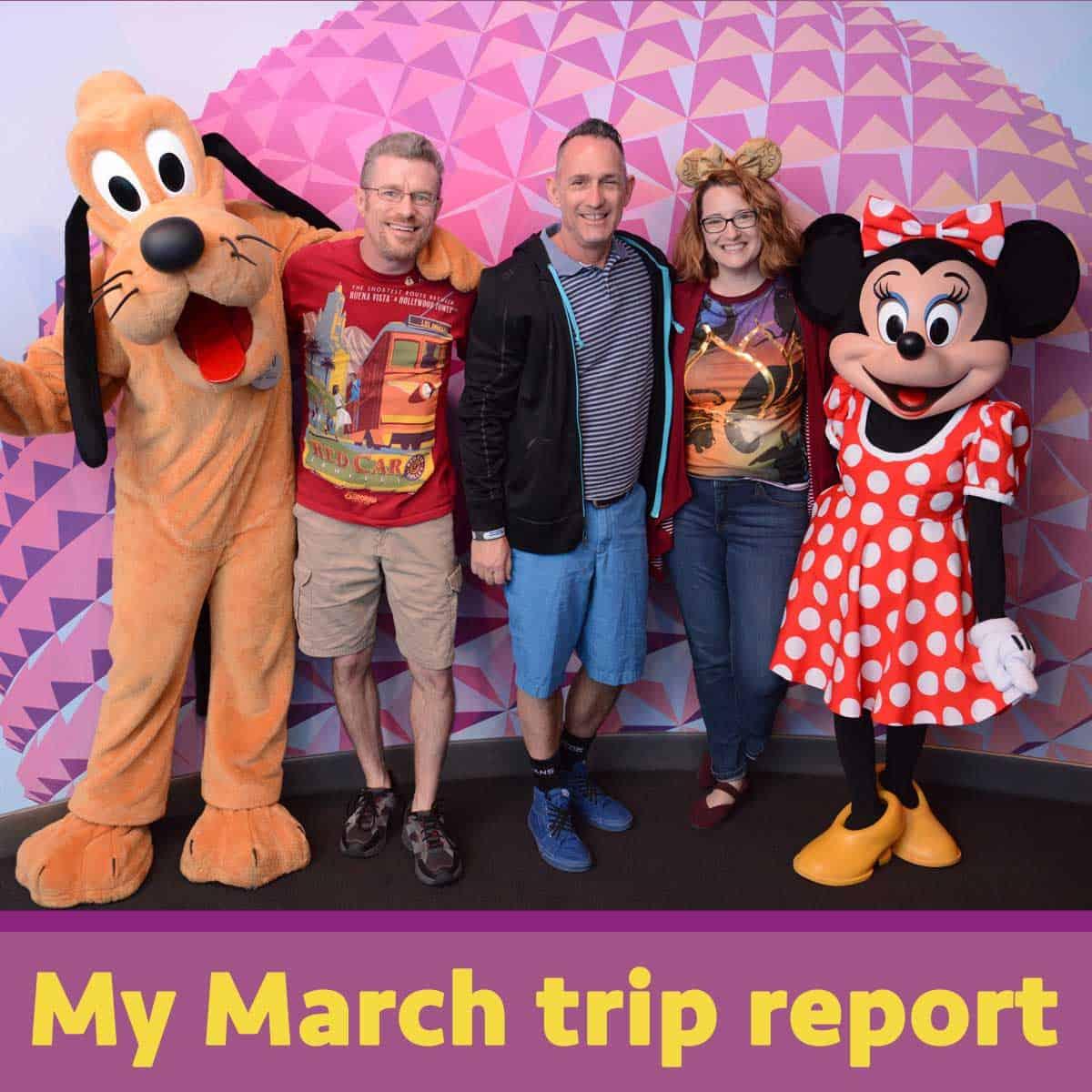 My March trip report | WDW Prep School
