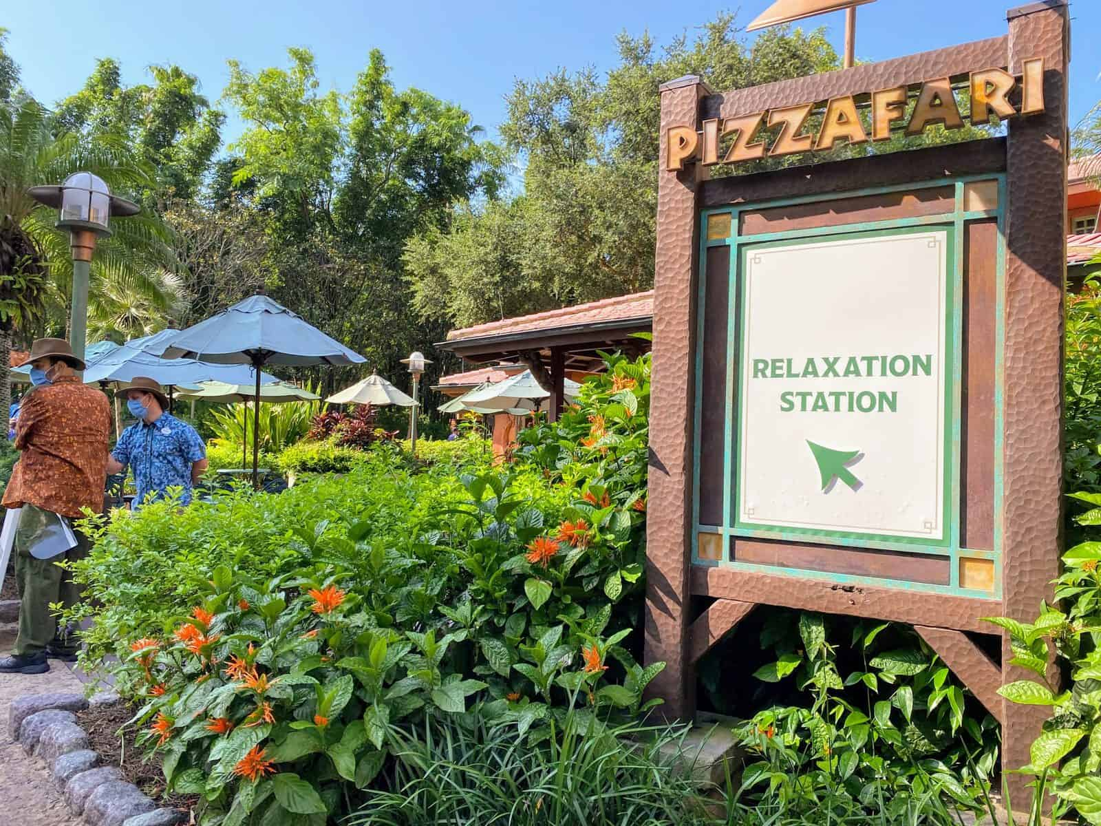 Animal Kingdom Relaxation Station