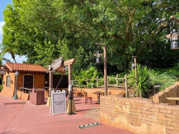Relaxation Station Magic Kingdom