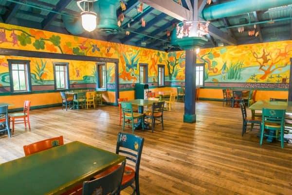 Pizzafari relaxation station in Animal Kingdom
