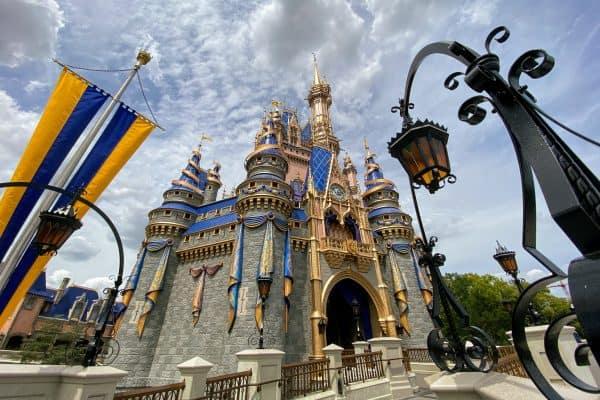 Pink Castle May at Disney World