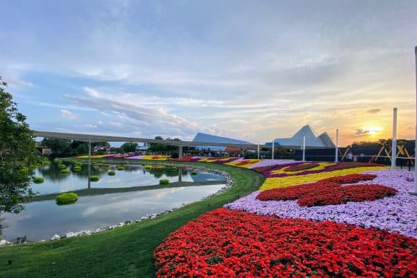 Flower and Garden Festival May at Disney World