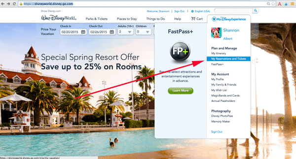 mdecheckin - How to get the Disney World resort room you want