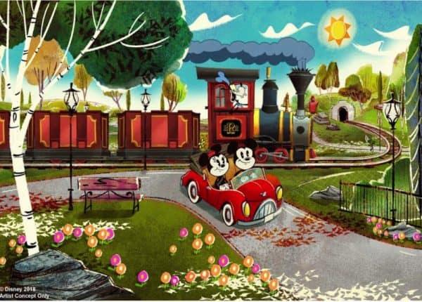 Mickey and Mickeys Runaway Railway