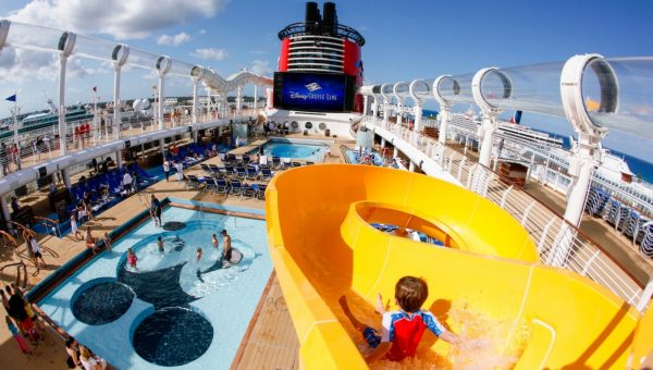 Mickey's Pool on Disney Cruise Line