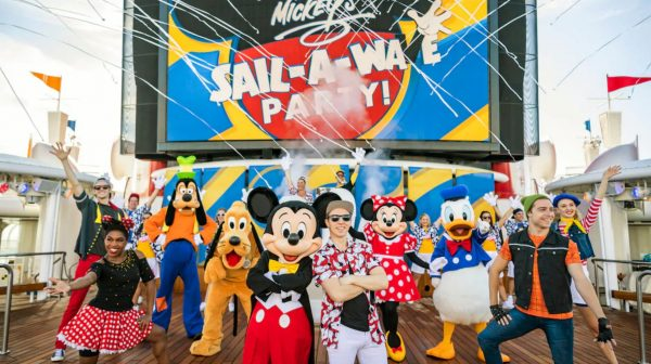 Mickey's Sail-A-Wave Party on Disney Cruise Line