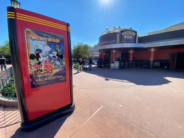 Mickey Shorts Theater in Hollywood Studios
