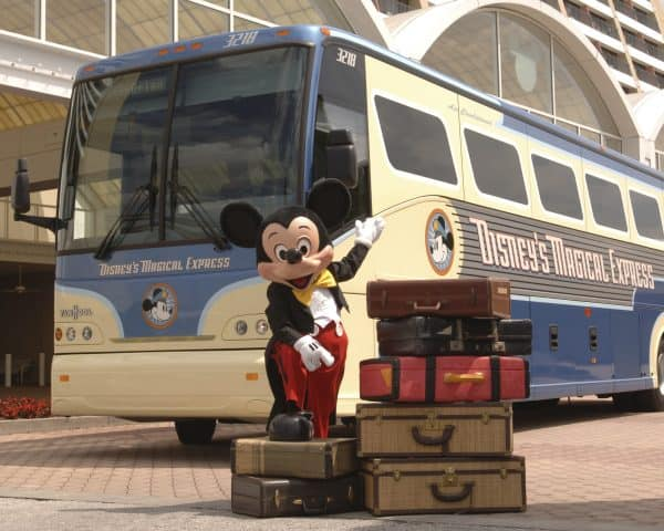 mickeymagicalexpress 600x480 - How Magical Express works at Disney World