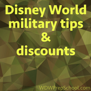 Disney world tips and discounts for military personnel fandeluxe Gallery