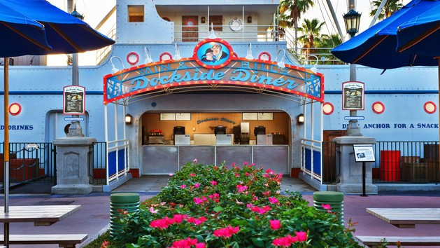 Hollywood Studios Dining - Dockside Diner (lunch)