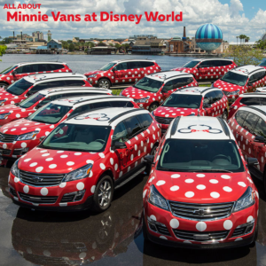 6081b47404 Minnie Vans now available at all resorts! Here s how they work.