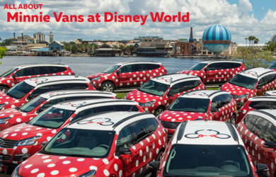 all about Minnie Vans at Disney World