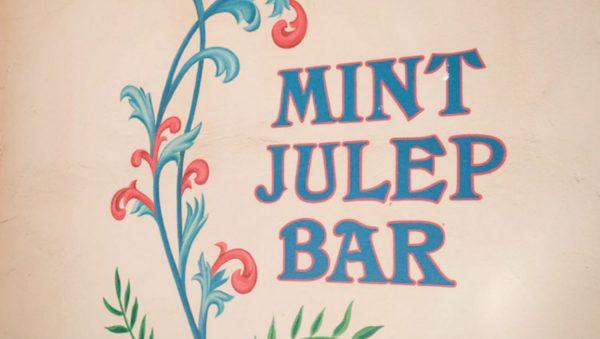 Mint Julep Bar in Disneyland
