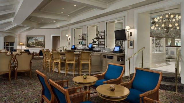 Grand Floridian Resort - Mizner's Lounge