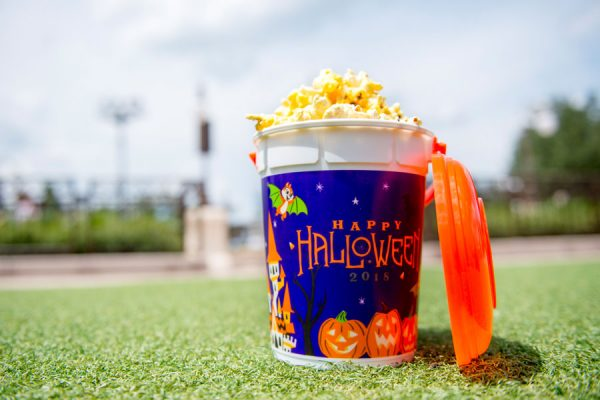 mnssshppopcorn 600x400 - 2018 Mickey's Not-So-Scary Halloween Party has begun! Here are the details.