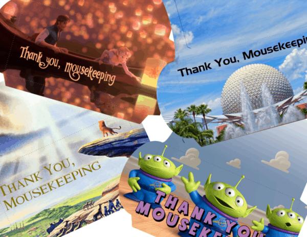 mousekeeping envelopes