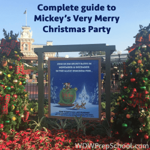complete guide to mickeys very merry christmas party - Mickeys Very Merry Christmas