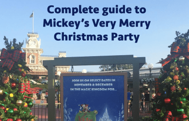 Complete guide to Mickey's Very Merry Christmas Party MVMCP