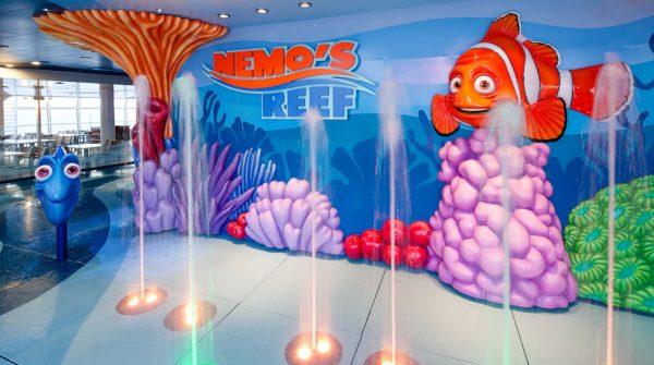 Nemo's Reef on Disney Cruise Line