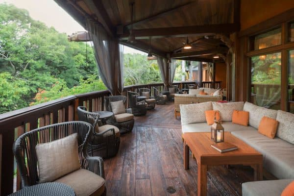 Nomad Lounge outside seating