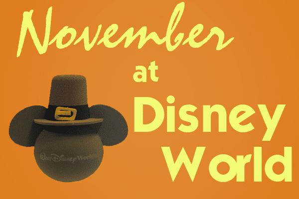 novemberheader 1 600x400 - November at Disney World in 2016