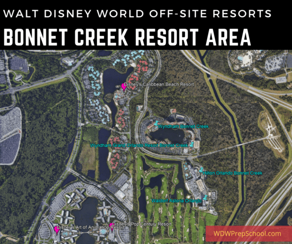 Bonnet Creek Resort Area