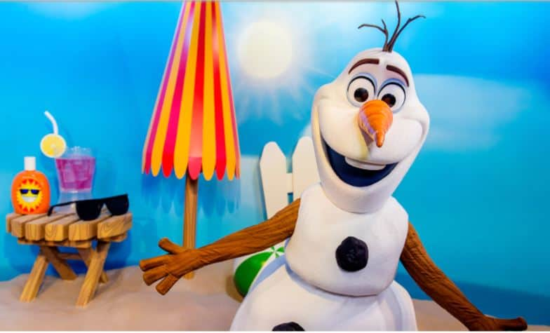Olaf at Celebrity Spotlight (character meet) – Temporarily Unavailable