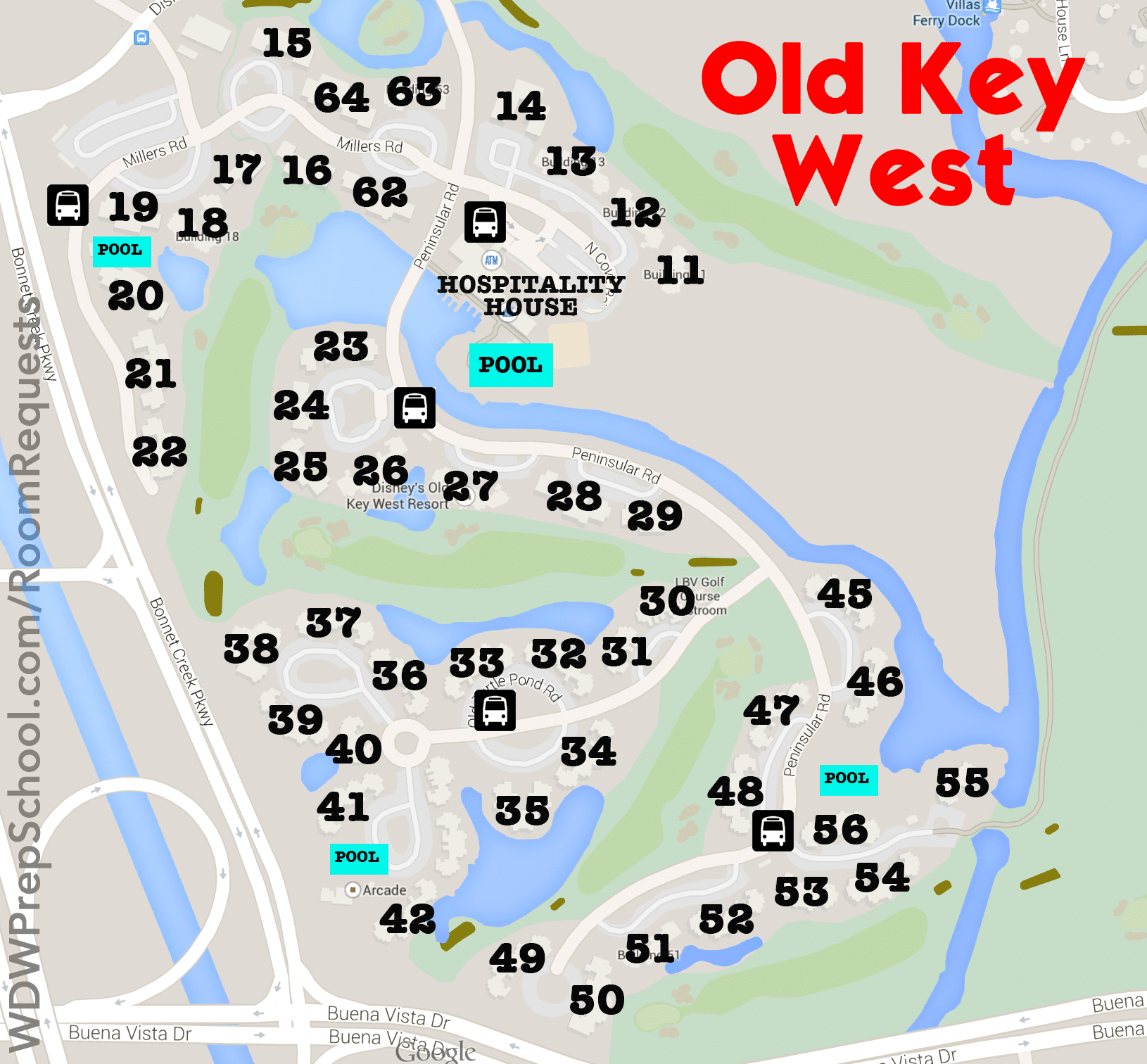 You Have Several Room Choices At Old Key West These Are Available To People Booking Through Disney Directly Using Dvc Points Will Diffe