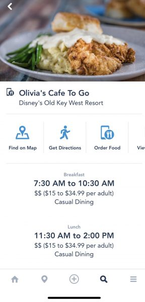 Olivia Cafe's To Go at Old Key West