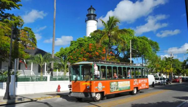 Open-Air Sightseeing Tour Adult-Only in Key West
