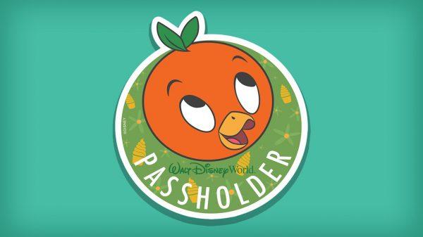 orange bird annual passholder magnet
