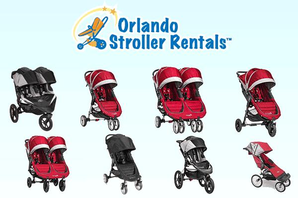 Disney World strollers - Orlando Stroller Rentals
